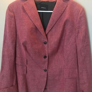 Akris Blazer gorgeous color for fall worn once
